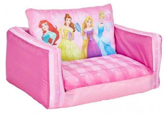 Disney Princess Flip Out Kids Sofa
