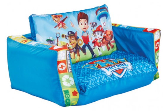 Paw Patrol Flip Out Kids and Toddler Sofa