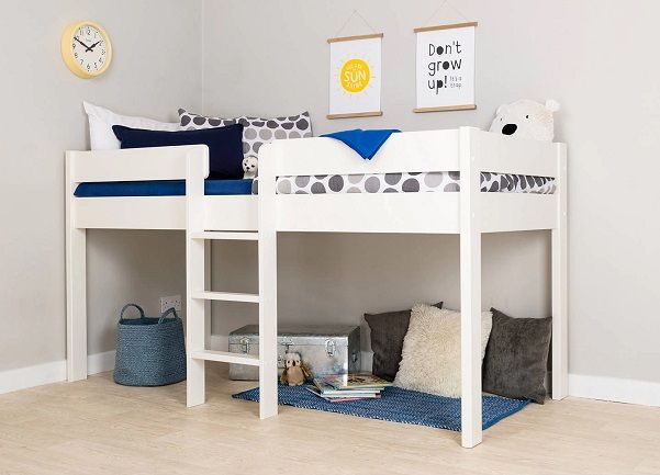 Stompa Compact Mid-Sleeper Bed Frame