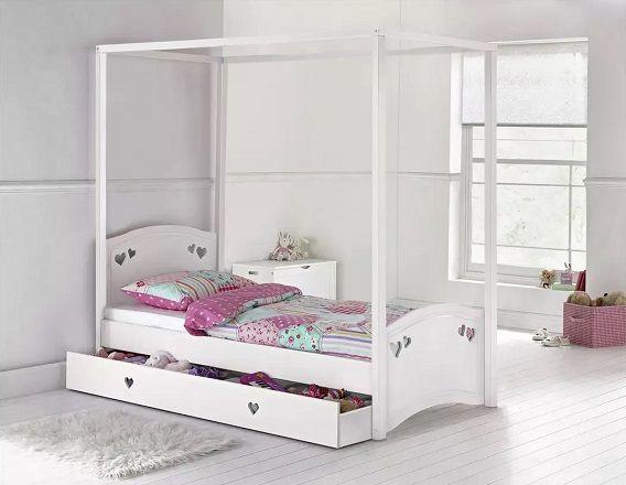 Argos Home Mia Single 4 Poster Bed Frame