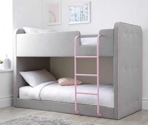 Charlie Fabric Uphostered Bunk Bed