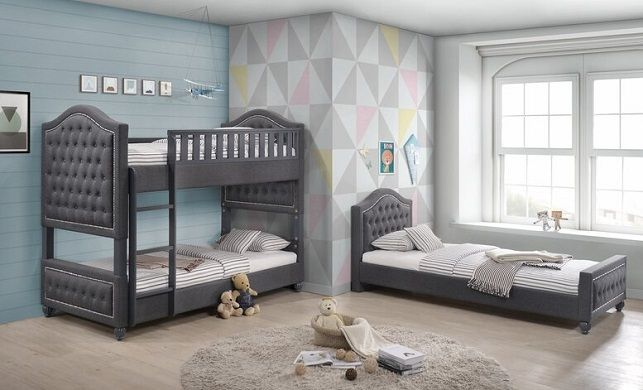 Couture Upholstered Bunk Bed