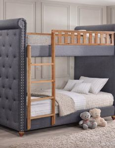 Isaiah Best Upholstered Bunk Bed