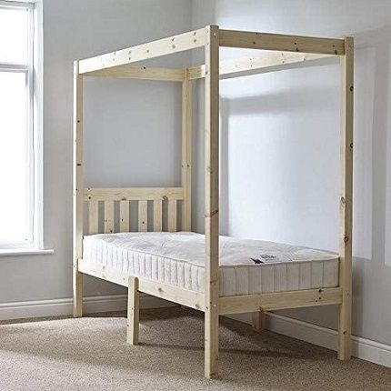 Strictly Beds and Bunks - Pine Four Poster Bed