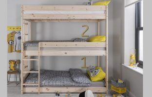 3 tier bunk beds henrik