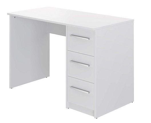 Amazon Brand - Movian Idro 3-Drawer Desk