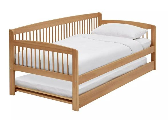 Argos Home Andover Day Bed with Trundle & 2 Mattresses