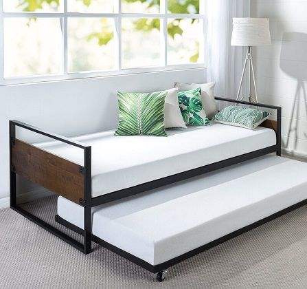 Barrett Single Bed with Trundle, by Symple Stuff