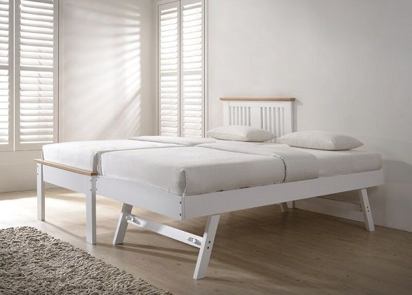 Bingham Single Bed with Trundle, by Harriet Bee