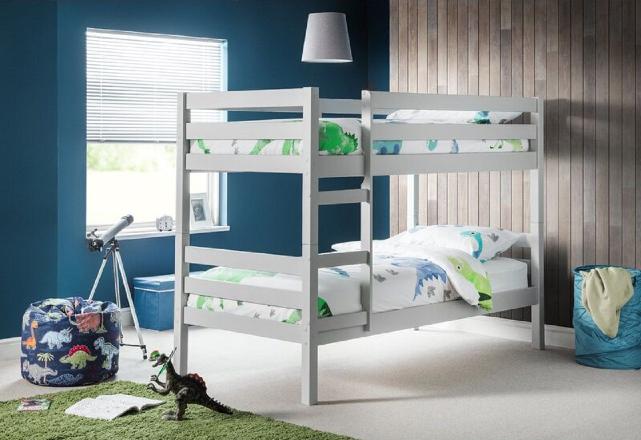 Bunk Bed with Mattresses Kendra by Harriet Bee