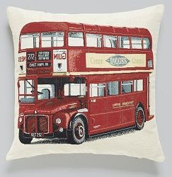 Gobelin London Bus Bed Pillowcase, by Happy Larry