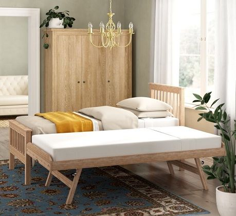 Guest Bed with Trundle, by Brayden Studio