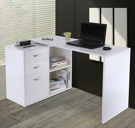Marielle L-Shape Desk Zipcode Design