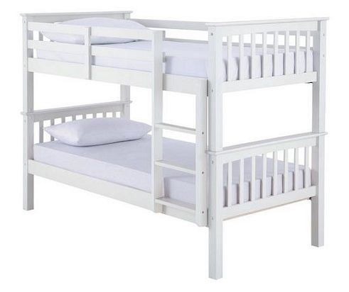 Novara Detachable Bunk Bed two Mattresses