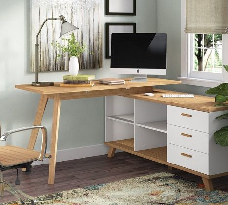 Oslo Corner Desk by Fjorde & Co