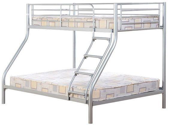 Oslo Triple Metal Bunk Bed, by Just Kids