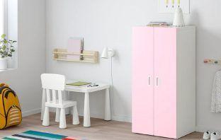 Pink Wardrobe STUVA, FRITIDS