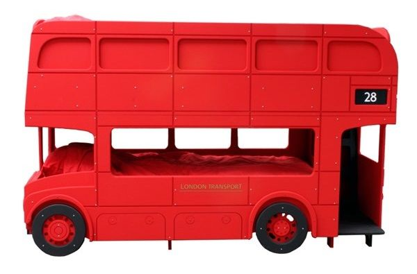 Route Master London Bus Kids Bunk Bed