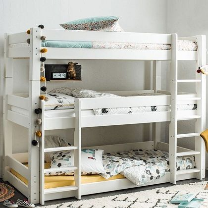 Scandinavia 3 Tier Bunk Bed by Flair Furnishings