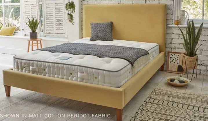 Soho Emperor Upholstered Bed by Feather & Black