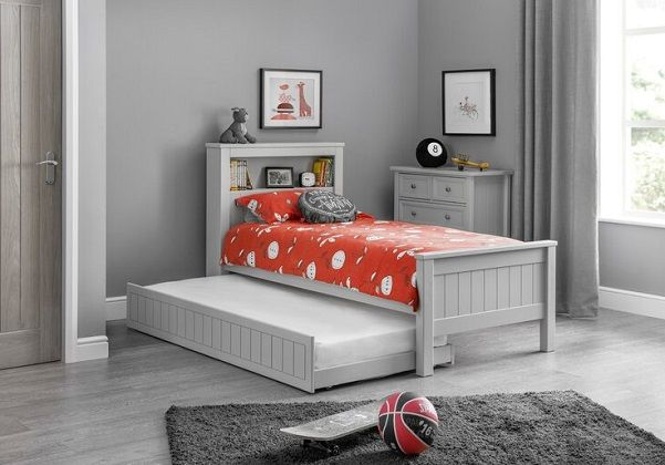 Trident Single Bed Frame with Trundle by Breakwater Bay