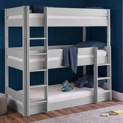 trio three level bunk bed