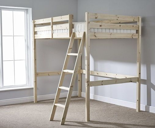 Bromley Double High Sleeper Bed, by Just Kids