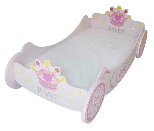 Dial Carriage Toddler Bed Frame, by Zoomie Kids