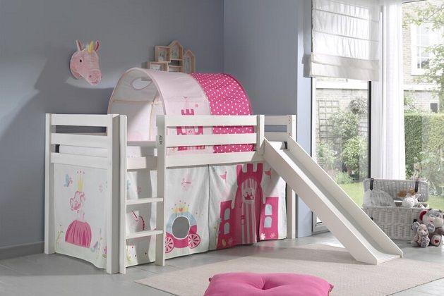 Ethridge European Single Mid Sleeper Bed, by Zoomie Kids