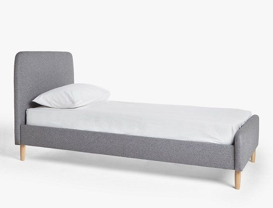 House by John Lewis Bonn Child Compliant Upholstered Low Bed Frame