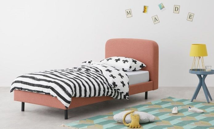 MADE Essentials Besley Low Bed