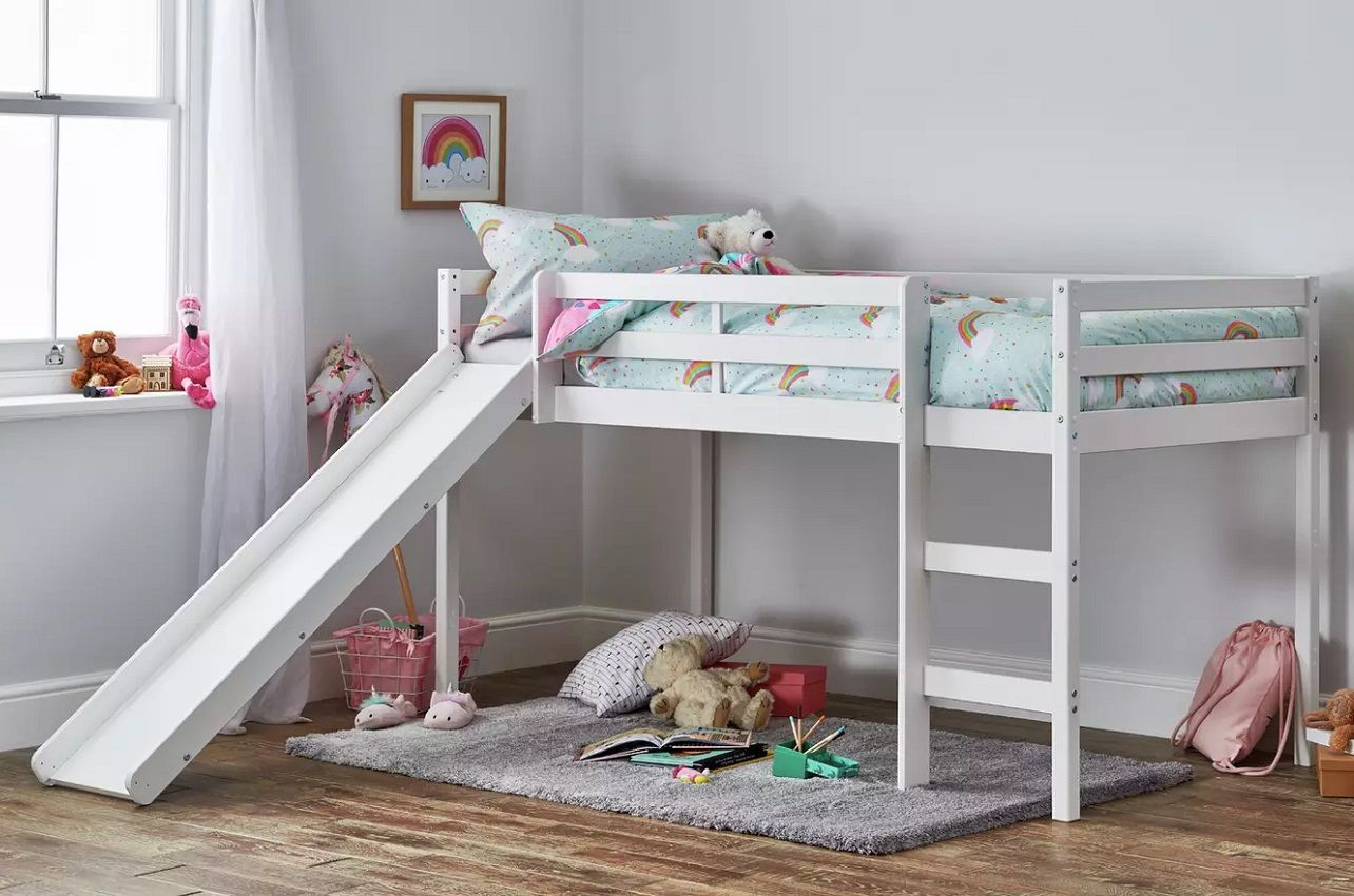 10 Best Cabin Beds And Mid Sleepers With Slide Kids Bed Experts