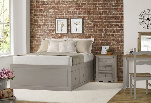 Shoup Kids Double Storage Bed, by August Grove
