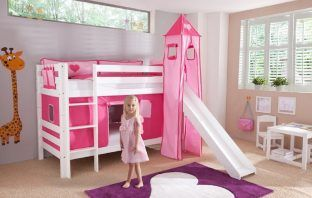 best bunk bed with slide by zoomie kids
