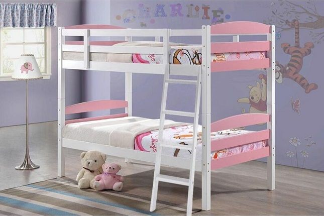 Fuentes Single Bunk Bed, by Harriet Bee