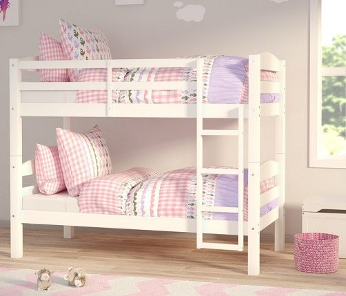 Hendrick Single Bunk Bed, by Harriet Bee