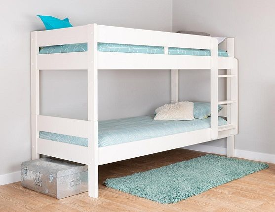 Stompa Compact Detachable Bunk Bed, Single, White