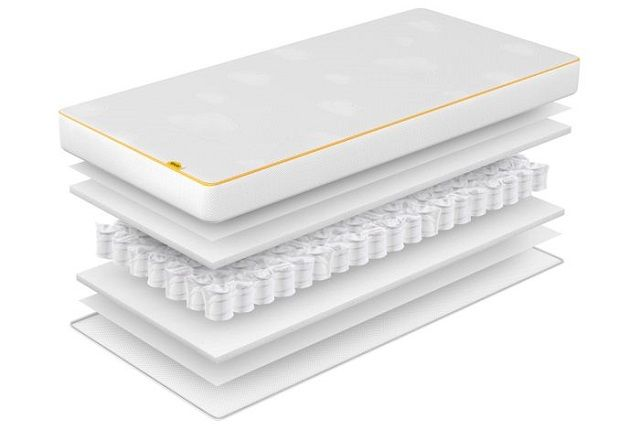 eve cot bed mattress layers