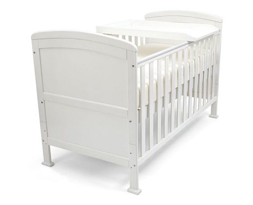 Annabelle Cot Bed with Mattress, by Harriet Bee