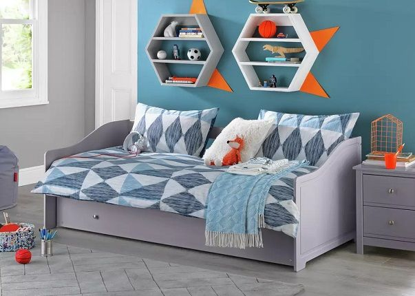 Argos Home Brooklyn Daybed with Trundle and Mattress