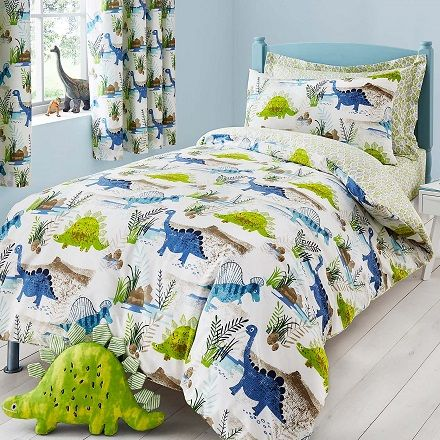 Dinosaur Bedding in Toddler, Single or Double size