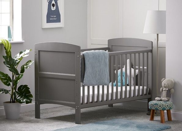 Grace Cot Bed with Mattress, by Obaby