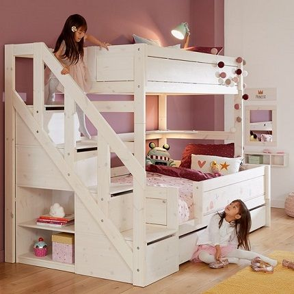 Lifetime Family Bunk Bed with Staircase