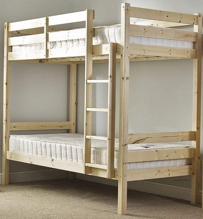 Classic Short Bunk Bed by Strictly beds and bunks