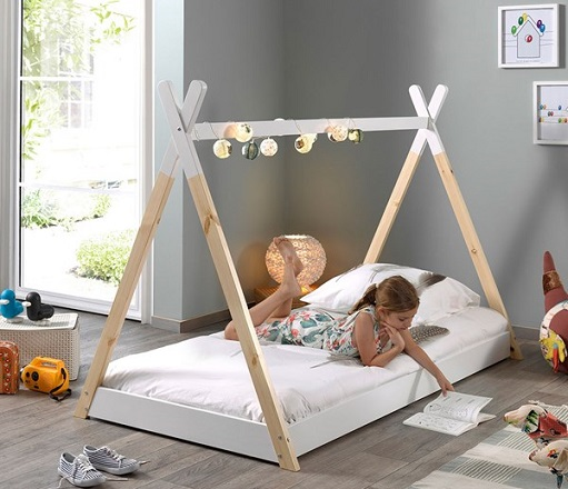 Kids Tipi Bed, by Cuckooland
